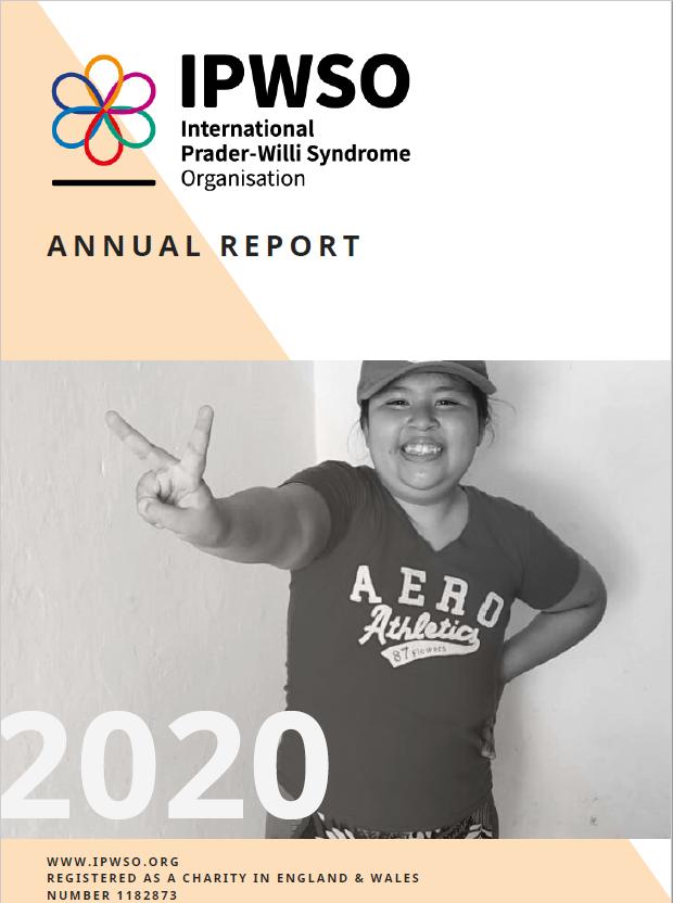 Annual report cover 2020